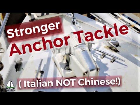 DONT BUY CHINESE Anchor Chain! | Anchor Windlass & Chain Locker Tips | Patrick Childress Sailing #50