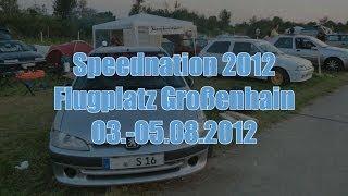 preview picture of video 'SRT- Speednation 2012 - 1/4 Meile - Flugplatz Großenhain HD'