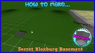 How To Make A Secret Basement  In Bloxburg 2020 | Bloxburg