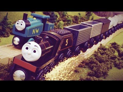 The Adventure Begins - Runaway James - Thomas Wooden Railway Remake