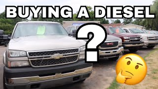 What to look for when buying a Used Duramax *wish I knew this sooner*