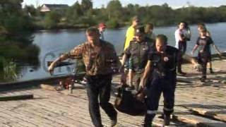 Спасение ребенка на озере Бутыгино в Архангельске