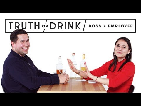My Boss & I Play Truth or Drink   Truth or Drink   Cut