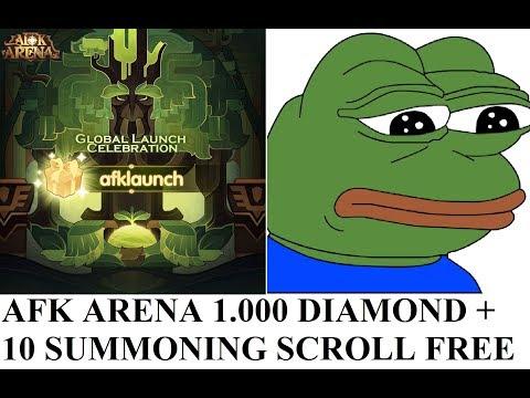 AFK Arena Global, 17,000 Gems Rate Test Summoning + Free