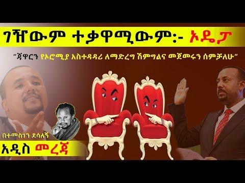 """Ethiopia: ገዥውም ተቃዋሚውም ኦዴፓ """"አለቃው ማን ነው """"? l Temesgen Desalegn l"""