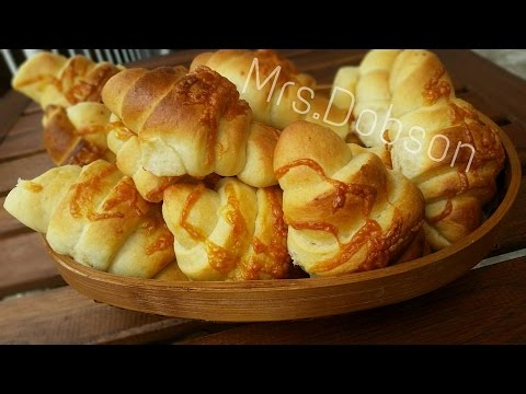 Video Resep Roti  Keju tanpa Telur(Cheese Bread)