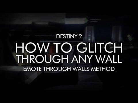 Destiny 2 – How To Glitch Through Any Wall