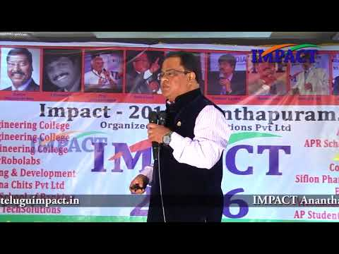 Now or Never - Change | Venugopal Lakshmipuram |  TELUGU IMPACT Anantapur 2016 - Part2
