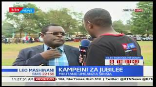 Senate Speaker Kenneth Lusaka:We have put in place systems to ensure voters aren't disturbed