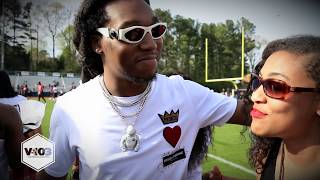 Takeoff From Migos Shares His Thoughts On Helping The Community - Video Youtube