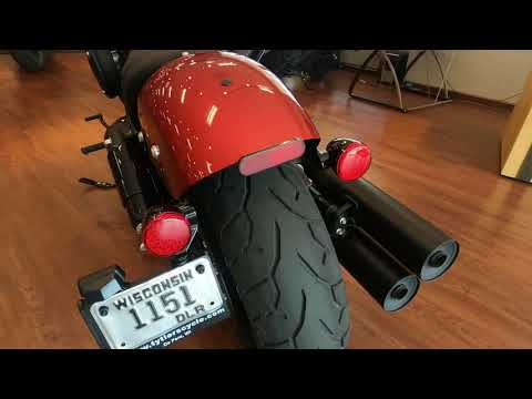 2022 Indian Chief Bobber ABS in De Pere, Wisconsin - Video 1