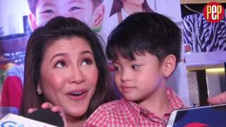 Regine Velasquez does not tell son Nate he was paid for commercials