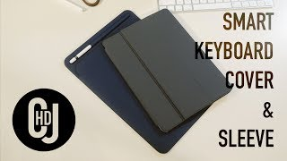 Apple IPad Pro 10.5 Smart Keyboard Cover And Sleeve - Hands-on Review