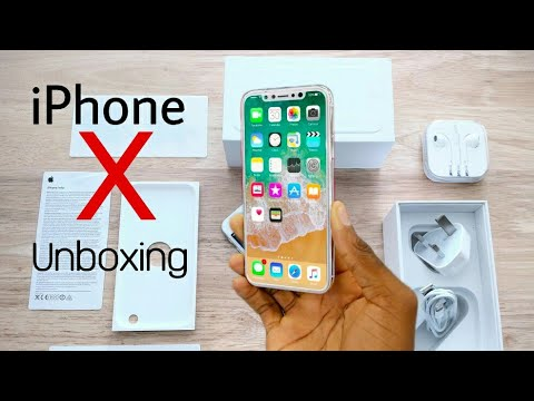 Apple iPhone X Unboxing & First Look in हिंदी 🍎 iPhone 10