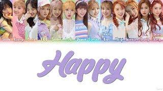 WJSN/Cosmic Girls (우주소녀) – HAPPY Lyrics (Color Coded/HAN/ROM/ENG)