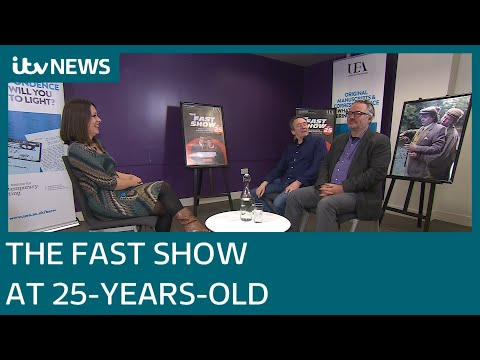 Charlie Higson and Paul Whitehouse on 25 years of The Fast Show | ITV News