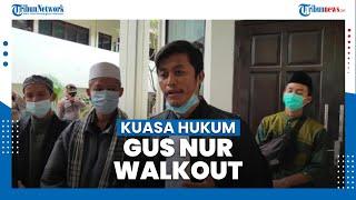 Kliennya Tak Dihadirkan Offline, Kuasa Hukum Gus Nur Walkout dari Ruang Sidang