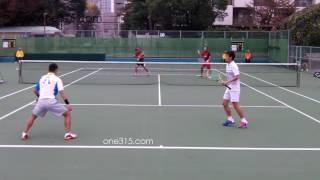 [すごプレ39]ソフトテニス日本代表選考会2015 水澤長江ー篠原小林