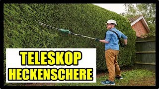 ► BESTE TELESKOP HECKENSCHERE 2018 ★ Akku Stab Heckenschere  - Stab Heckenschere Bosch, Einhell, ...