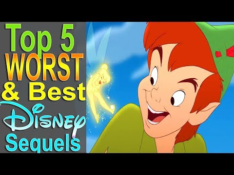 Top 5 Worst & Best Disney Sequels (Animated)