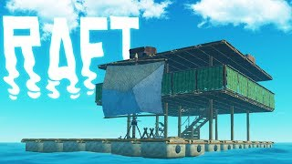 RAFT - My Giant Raft! - Underwater Exploration & Harvesting & Raft Upgrades - Raft Gameplay Pt 4
