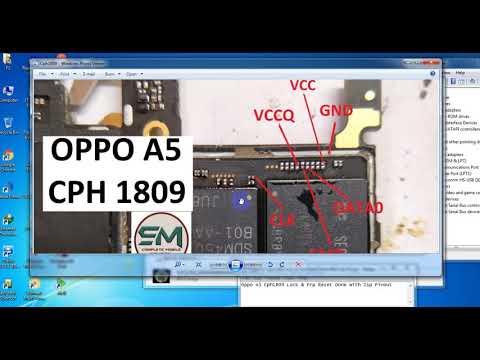 Oppo A5 (CPH1809) Pattern Unlock Password Unlock New Method In Hindi