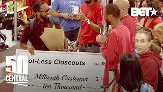 ONE MILLIONTH CUSTOMER PRANK | 50 Central