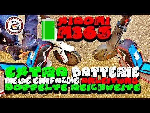 AKKU TUNING! Extra Batterie UPGRADE 🔋 Easy Anleitung - Xiaomi M365 🛴 DEUTSCH - GER
