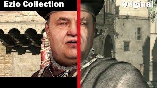 Ezio Collection - Graphics Comparison | Side by Side | Original vs Remastered