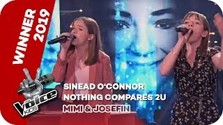 Sinéad O'Connor   Nothing Compares 2U (Mimi & Josefin) | WINNER | The Voice Kids 2019 | SAT.1