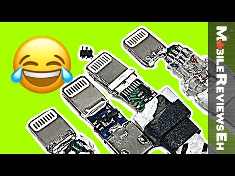 Are all iPhone Lightning cables created EQUAL? - Charge Tests, Tips for FAKE cables & Tear Downs