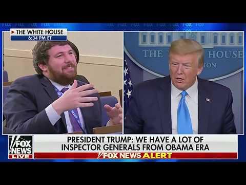 MONTAGE: President Trump vs The Media (Coronavirus Edition)