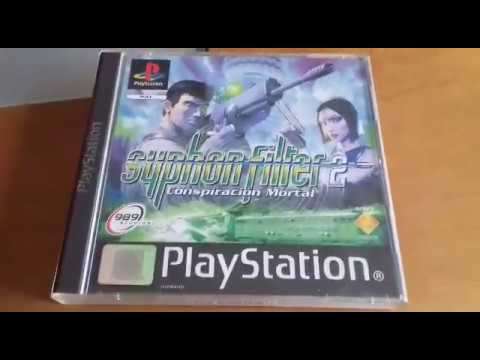 Unboxing: Syphon Filter 2: Conspiración mortal (PS1)