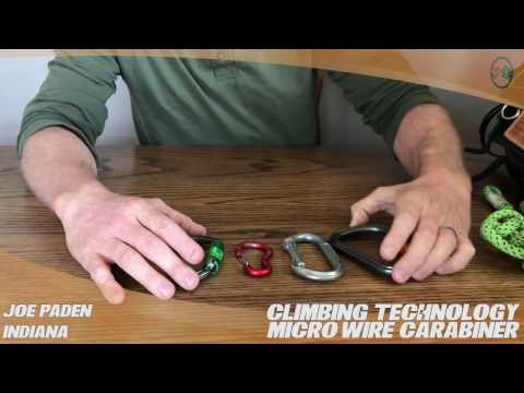 Climbing Technology Micro Wire Carabiner – TreeStuff.com Customer Joe Paden Review In The Field