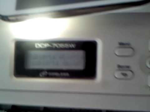 Como Reseteat la Impresora Brother  DCP-7055W