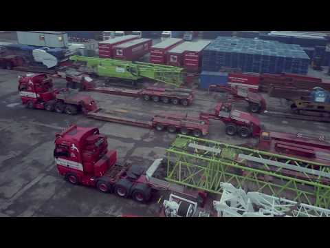 The challenge of transporting a 250-tonne crane to Dounreay