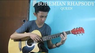 Bohemian Rhapsody - Queen (Fingerstyle Guitar Cover) Free Tabs