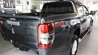 รับรถ 193,000 บาทไทรทันสี่ประตู 2019 รุ่น GLX-MT สีเทา