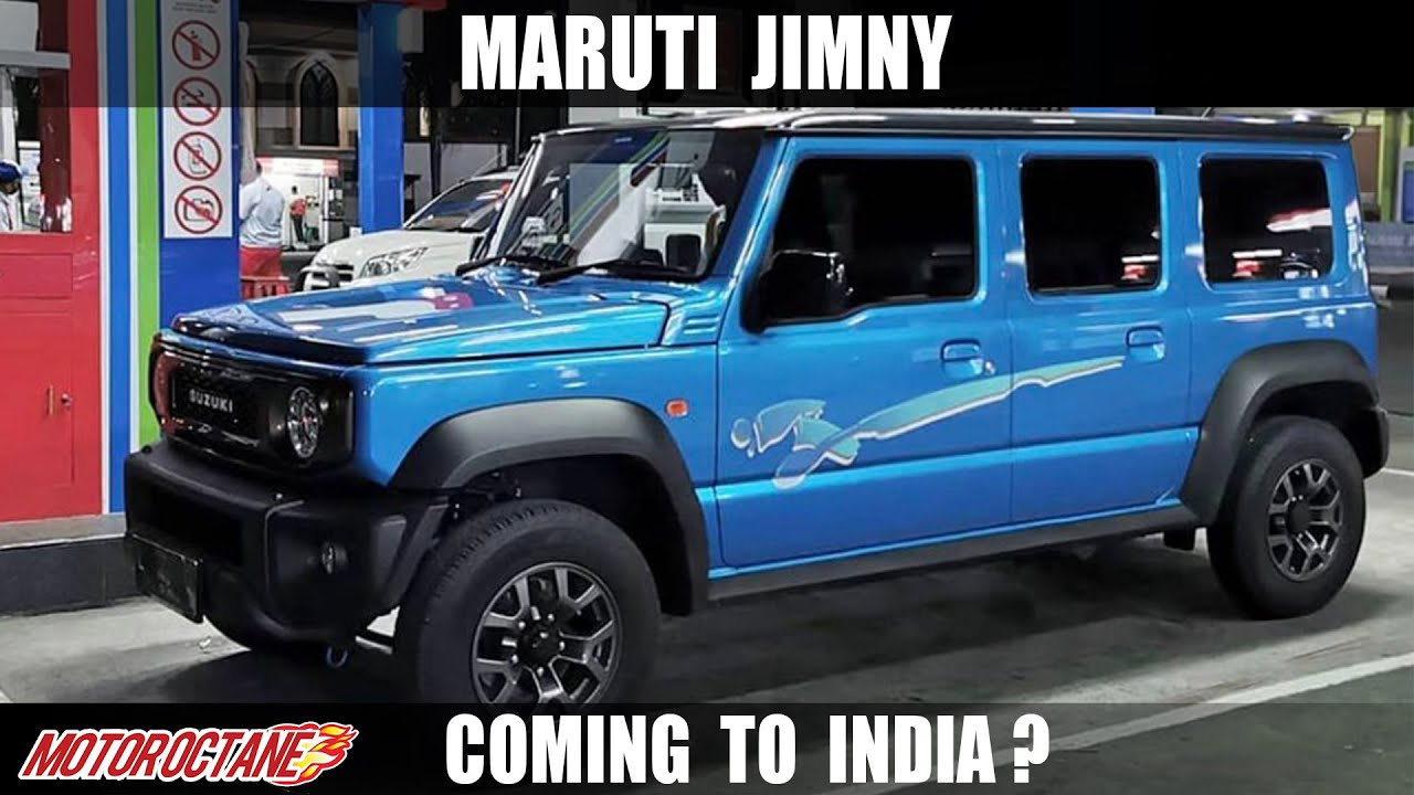 Motoroctane Youtube Video - Maruti Jimny Coming to India?