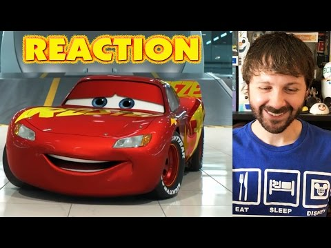CARS 3 - Official US Trailer REACTION
