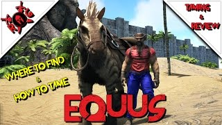 Ark ps4 equus das pferd info fr zuknftiges update 29 ark ark equus taming review patch 256 malvernweather Images