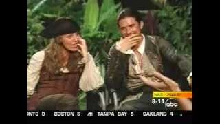 Keira Knightley, Orlando Bloom: Pirates Of The Caribbean Dead Mans Chest Interview