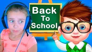 Игра в школу для детей Развивающие игры для девочек и для мальчиков