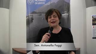 Intervista alla Senatrice Antonella Faggi