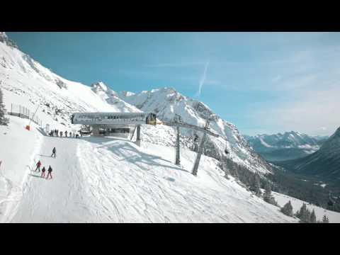 Skigebiet Ehrwalder Almbahn  - © Ehrwalder Almbahn