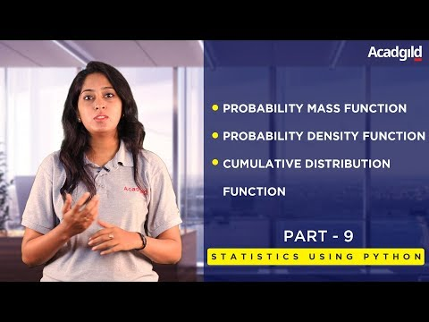 Statistics Using Python Tutorial Part 9 | Probability Mass Function | Data Science Tutorial #9
