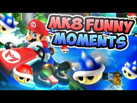 Mario Kart 8 Deluxe Funny Moments - Terroriser Hates Me...