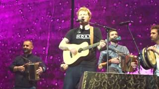 Ed sheeran and beoga Galway girl live in Dublin and original Galway girl
