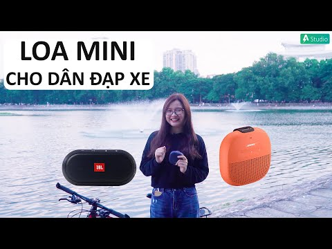 JBL Trip, Bose Soundlink Micro| Loa di động tốt nhất cho anh em đam mê xe đạp