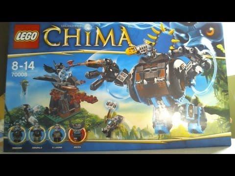 Vidéo LEGO Chima 70008 : L'ultra Robot de Gorzan